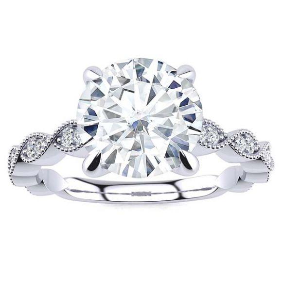 Danielle Moissanite Ring