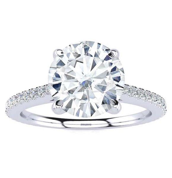 Haley Moissanite Ring