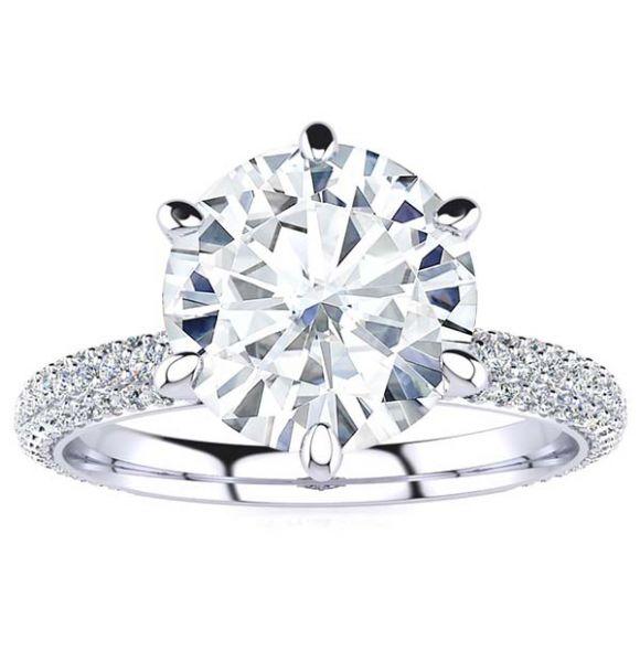 Madilyn Moissanite Ring