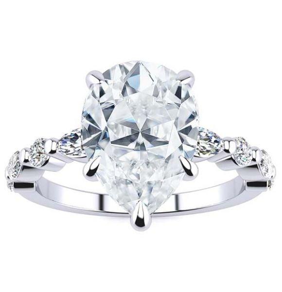 Leah Lab Grown Diamond Ring