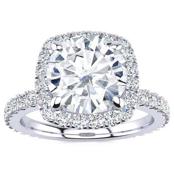 Miriam Moissanite Ring