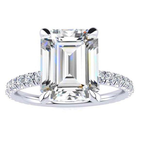Jennifer Moissanite Ring