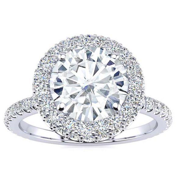 Kasandra Moissanite Ring