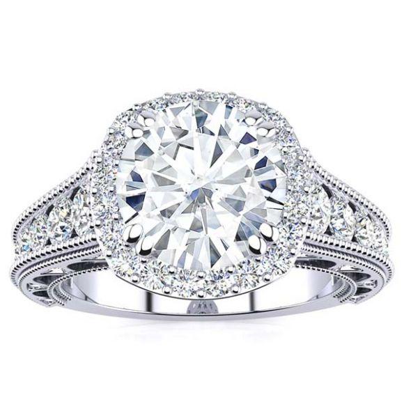 Shirley Moissanite Ring
