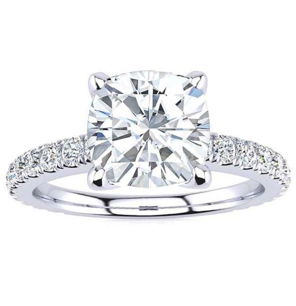 Valerie Moissanite Ring