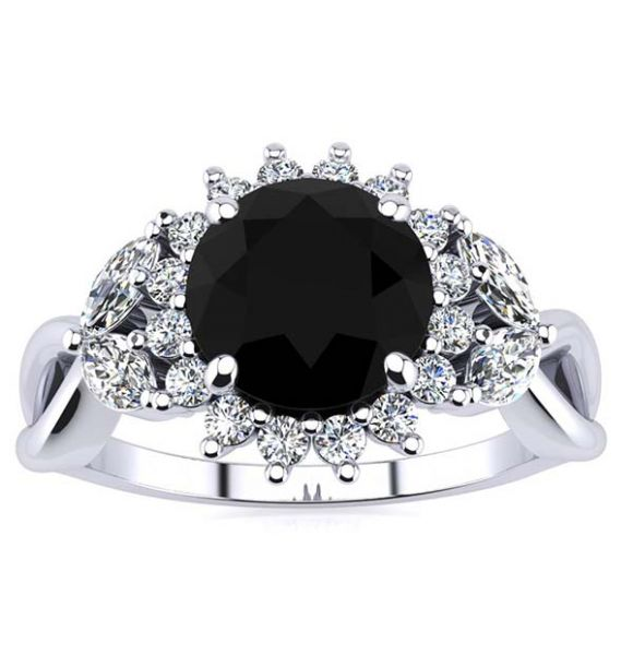 Cathy Black Diamond Ring