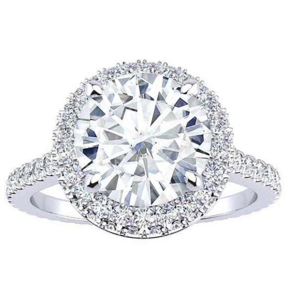 Karissa Moissanite Ring