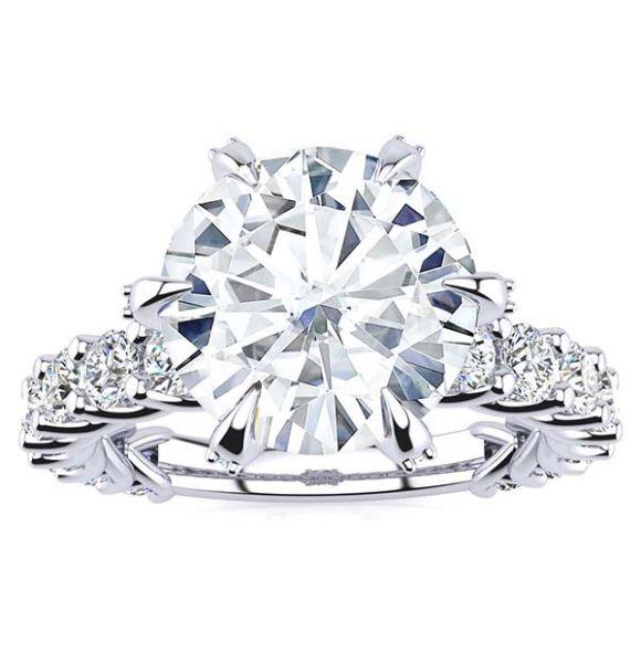 Sheena Moissanite Ring