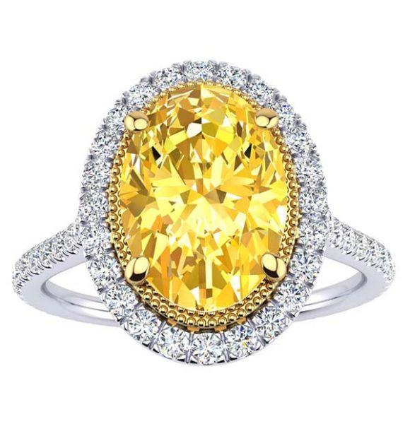 Athena Moissanite Ring