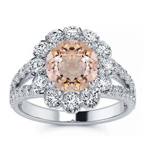 Milana Morganite Ring