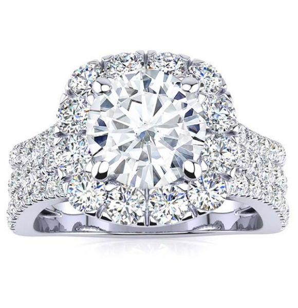 Dana Moissanite Ring