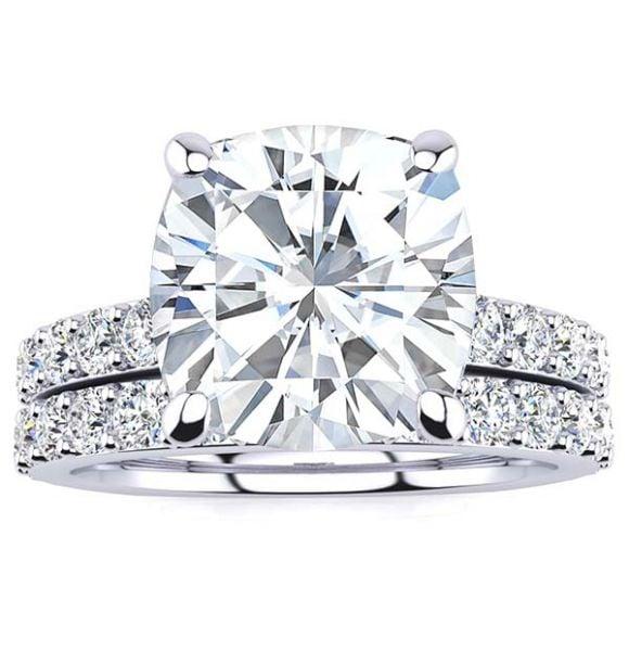 Jordan Moissanite Ring