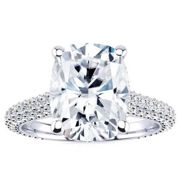 Michelle Moissanite Ring