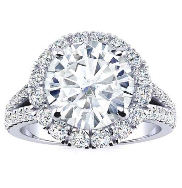 Ashley Moissanite Ring