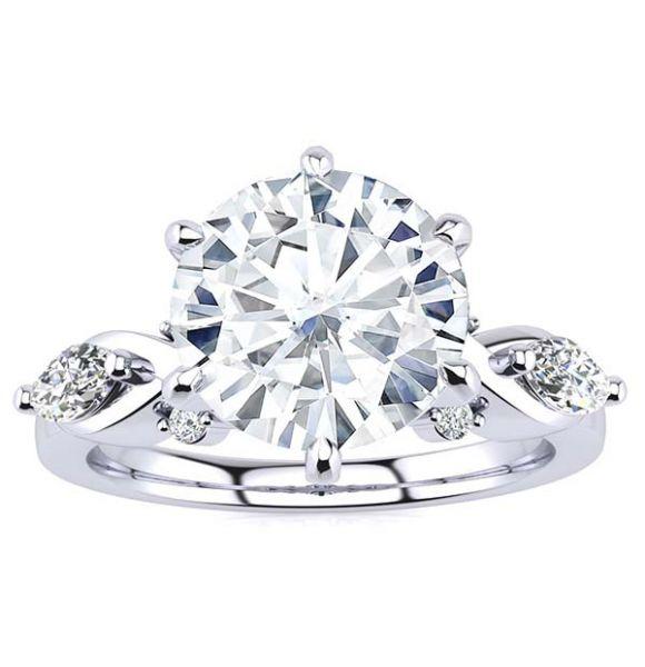 Jolene Moissanite Ring