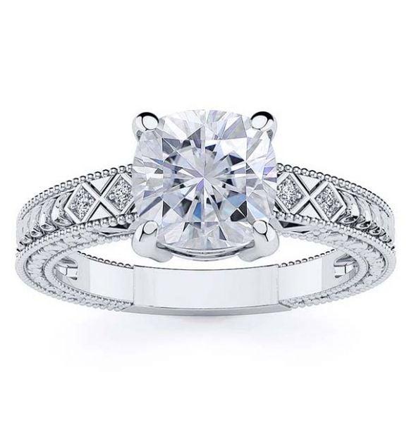 Adeline Moissanite Ring