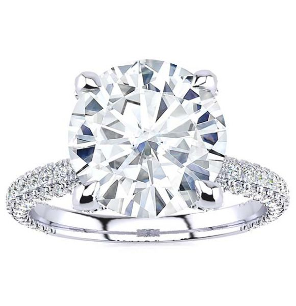 Shaylyn Moissanite Ring