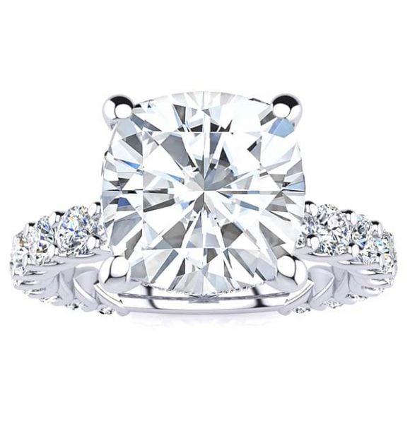 Halsey Moissanite Ring
