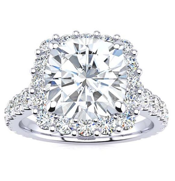 Martha Moissanite Ring