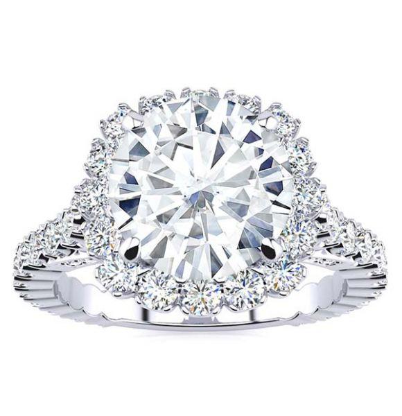 Kayla Moissanite Ring