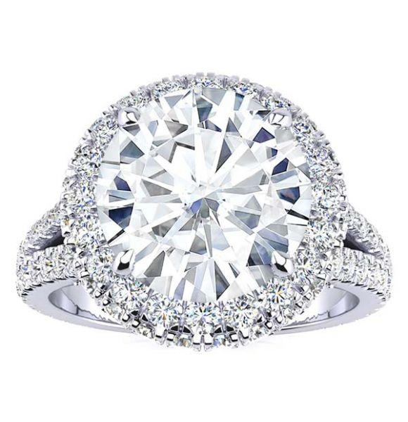 Ingrid Moissanite Ring