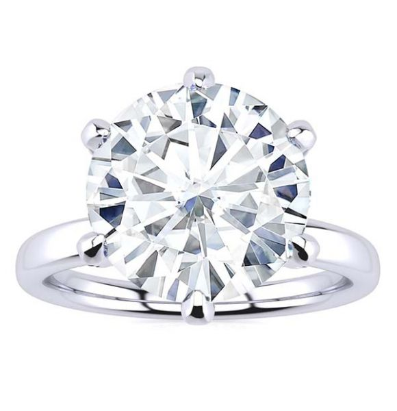 Molly Moissanite Ring
