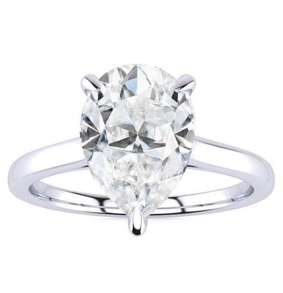 Mila Moissanite Ring