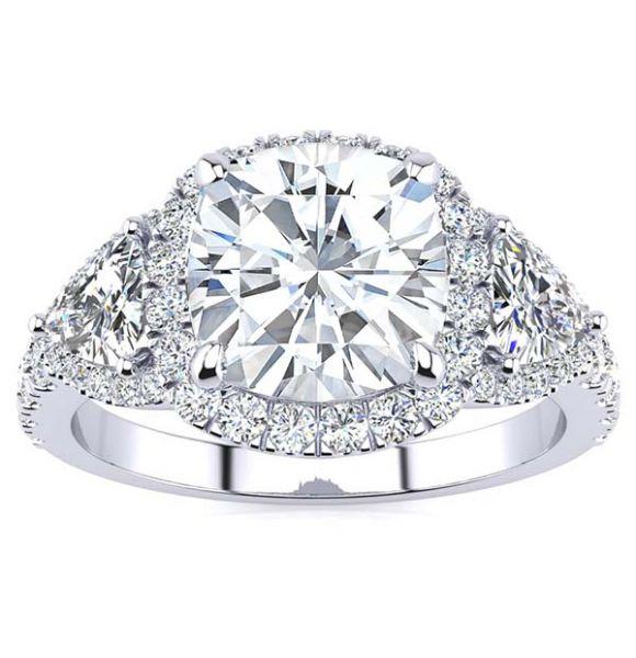 Lindsay Moissanite Ring