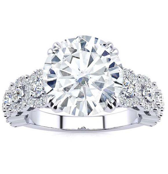 Courtney Moissanite Ring