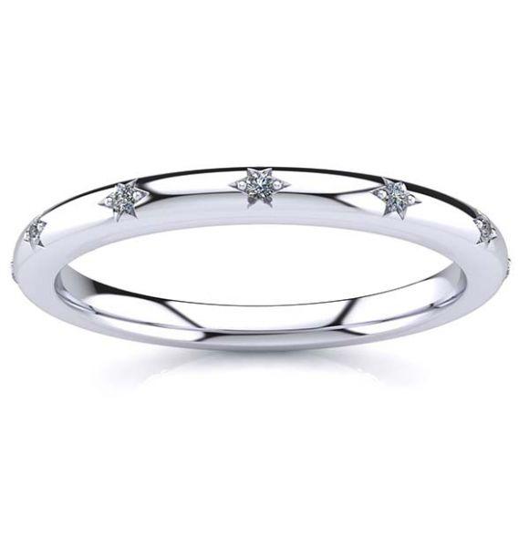 Starburst  Diamond Ring