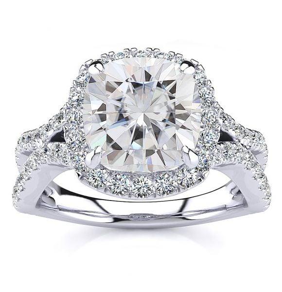 Julia Moissanite Ring