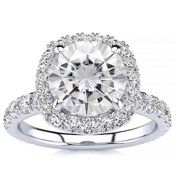 Donna Lab Grown Diamond Ring