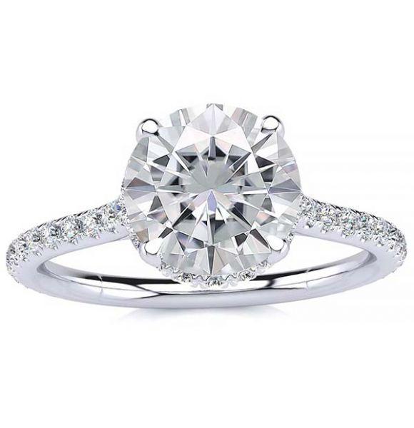 Becky Moissanite Ring