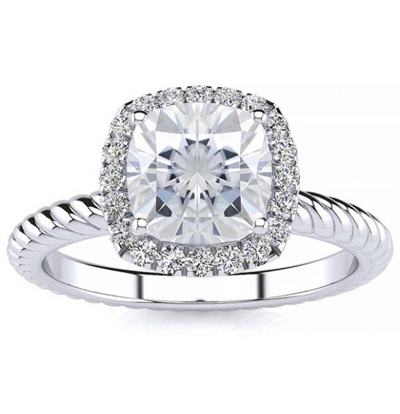 Alyssa Lab Grown Diamond Ring