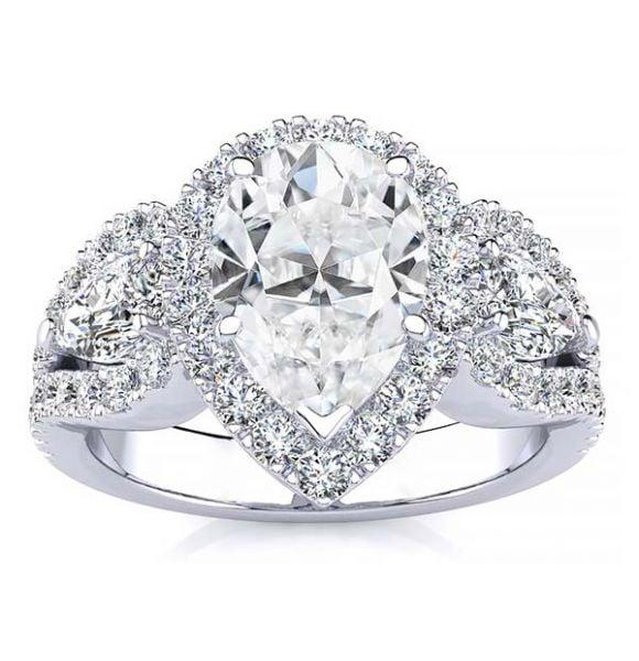 Lisa Moissanite Ring