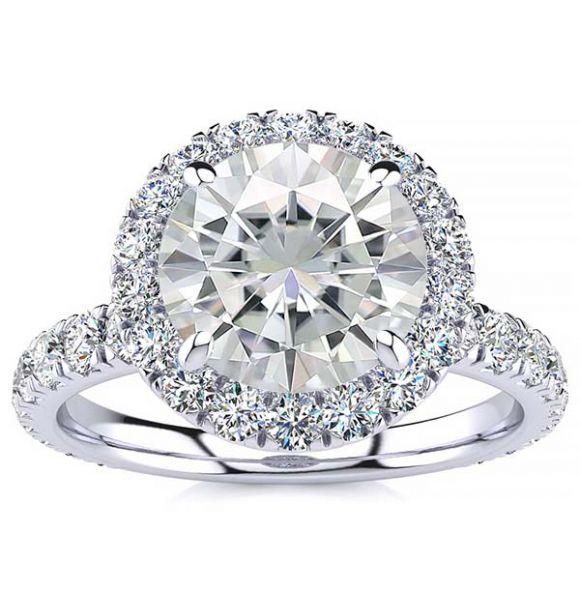 Kate Moissanite Ring