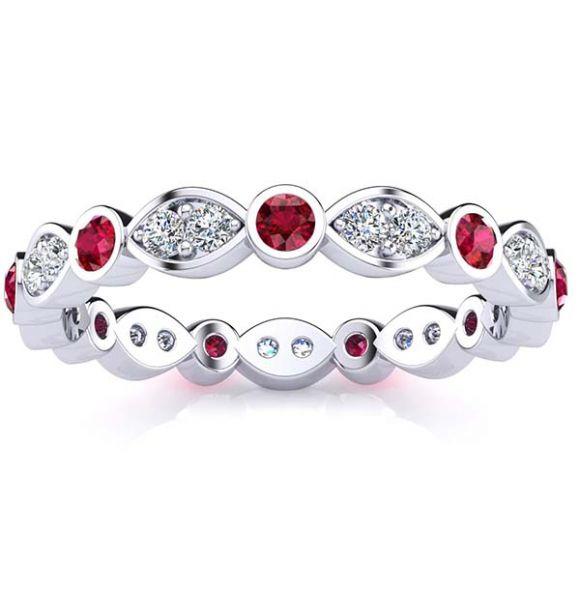 Medina Ruby Eternity Ring