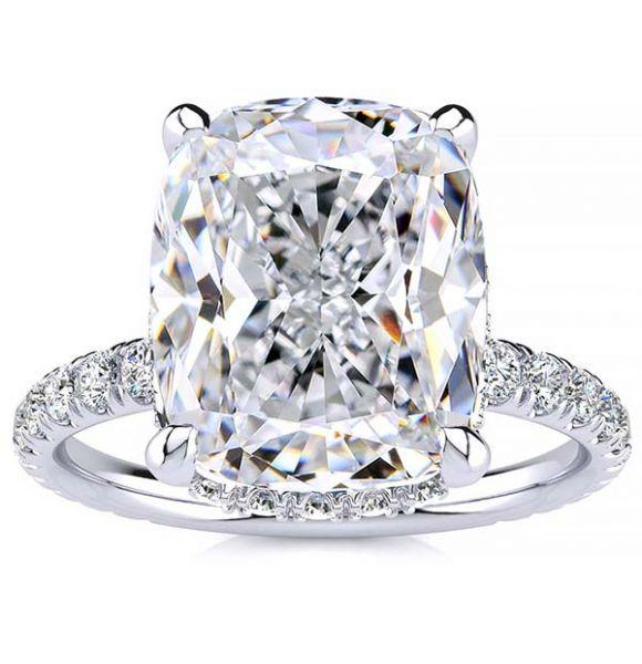 Jenny Moissanite Ring