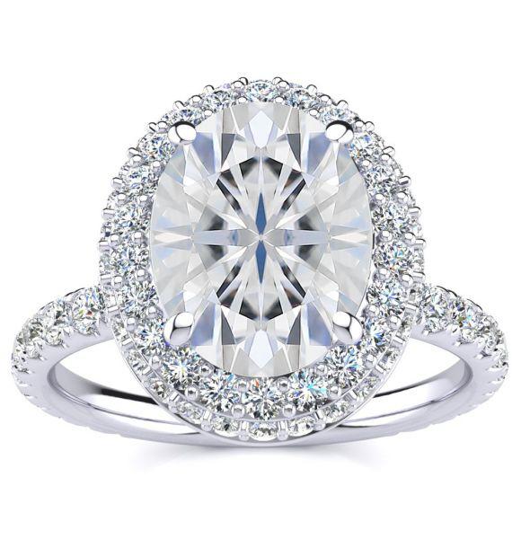 Alora Moissanite Ring