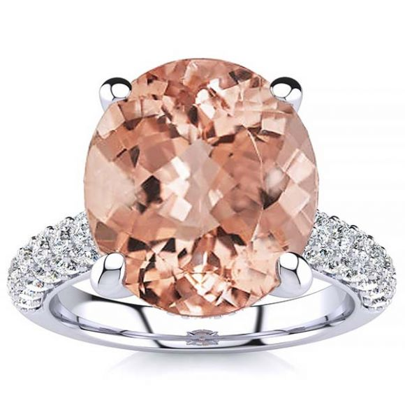 Anye Morganite Ring