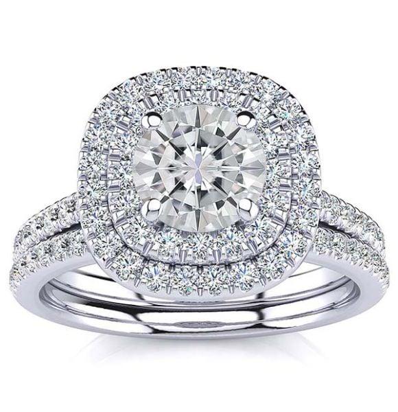 Tessa Moissanite Ring