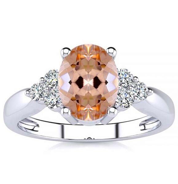 Selena Morganite Ring