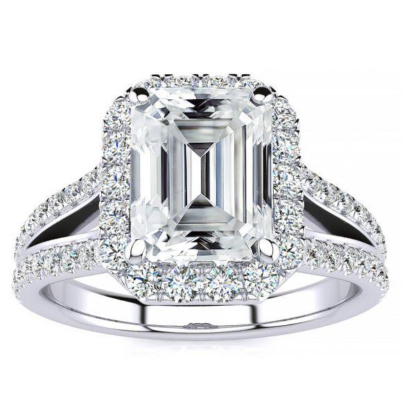 Kenzie Moissanite Ring
