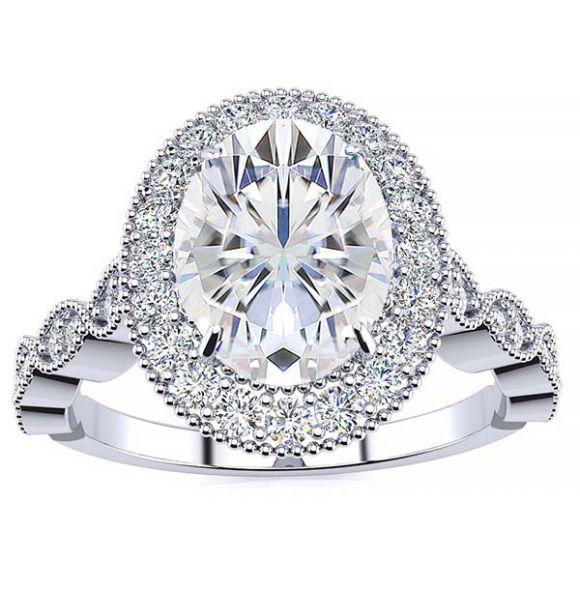 Amalia Lab Grown Diamond Ring