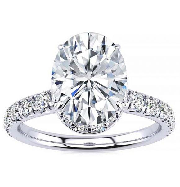 Bethany Moissanite Ring