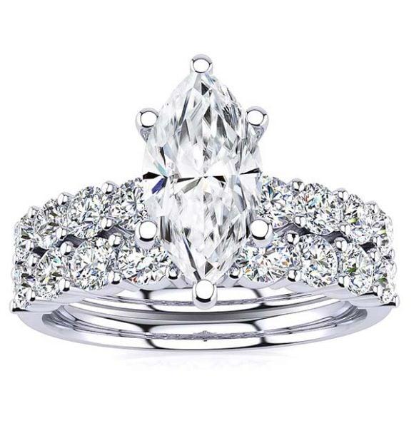 Jude Moissanite Ring