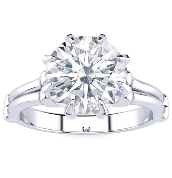Scully Moissanite Ring