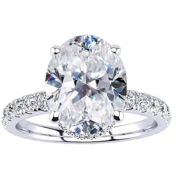 Joan Moissanite Ring