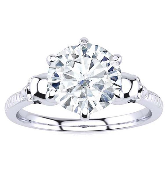Mary Moissanite Ring