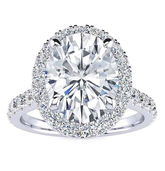 Josaleen Moissanite Ring